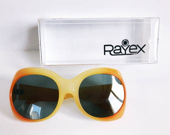 Vintage Rayex Sunglasses 70s New Old Stock