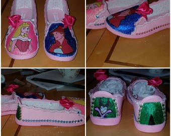 Disney Sleeping Beauty Inspired Shoes