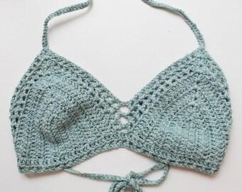 crochet bikini top Marie