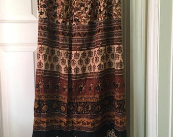 Forever 21 warm colored made in india long skirt