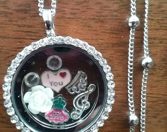 Mother's Day locket necklace