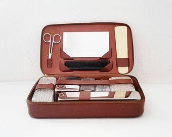 Vintage 1970's travel kit