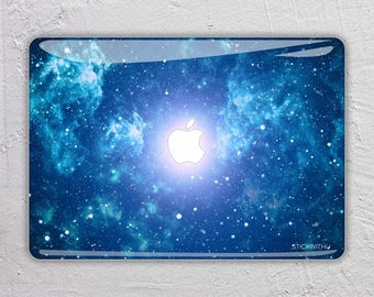 blue Sky macbook skin space macbook decal stars macbook sticker galaxy macbook cover macbook pro skin macbook air 13 15 12 11 FSM016