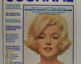 Marilyn Monroe on Cover of  Ladies' Home Journal  Magazine