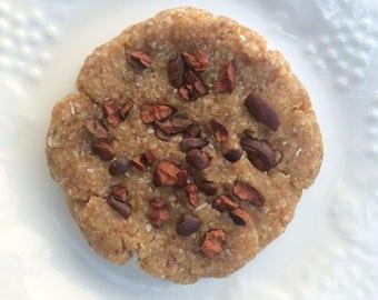 Cacao Nib Cookie, Organic, Raw, Vegan (4 Pack)
