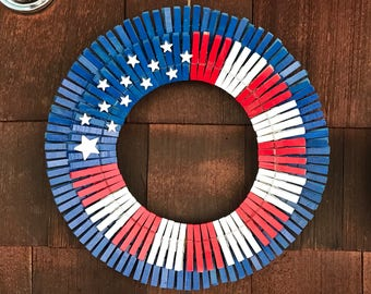 Patriotic Wreath 2