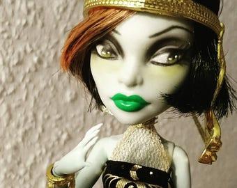 OOAK Monster high doll SCARA face up