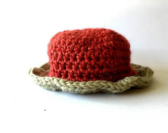 Crochet Girls' Hat