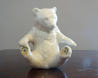 Vintage Lenox China Jewels Collection Bear