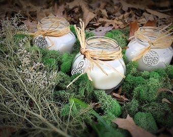 Celtic Moss Candle Company- Soy candles