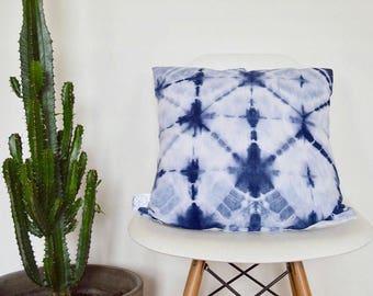 Relaxed Shibori Tie Dye blue