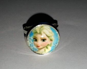 Elsa snow Queen child ring