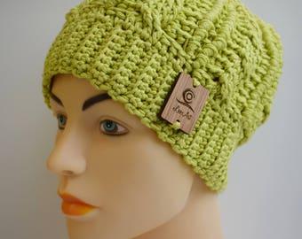 Crochet Beanie, Womens Hats, Crochet Hat, Winter Beanie, Gift For Womens, Knit Hat, Winter Hat, Gift For Her, Women, Vegan Hat, ECO Cotton