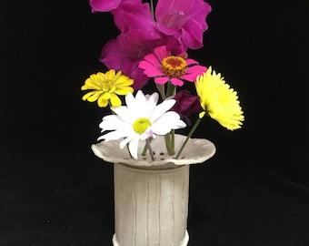 Vase with Flower Arranger - Flower Vase