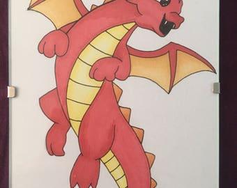 Cute Dragon Drawing