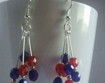 Red and blue dangles