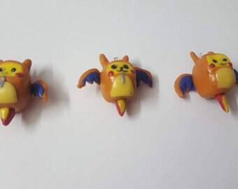 Charizard Pikachu Charms