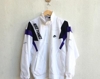 Vintage 90's Nike Training Jacket Unknown Signature