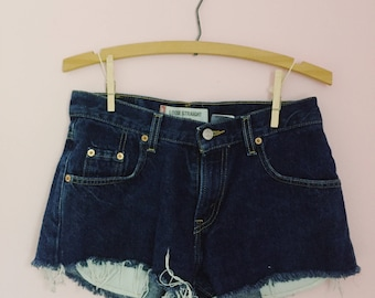 Vintage Levis Cut Off Denim Shorts