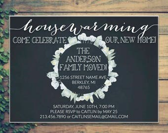 Housewarming Party Invitation - We've Moved!