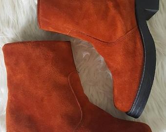 Vintage 90s Durango boots size 8. 70s style Durango boot