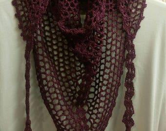 Handmade knitting Scarf