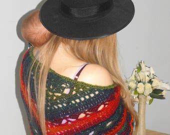 Spirit Shawl - Rainbow Crochet Shawl
