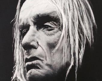 Iggy Pop - pastel portrait