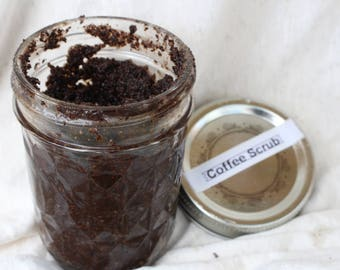 Mocha Latte Coffee Scrub