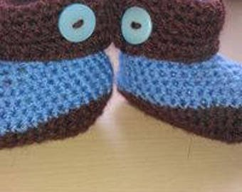 Crochet baby booties - any colour(s) available