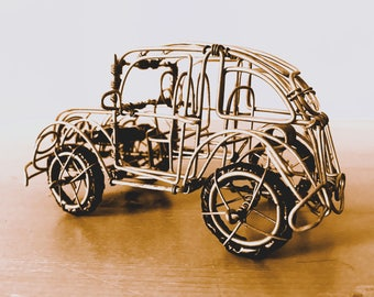 Crafted Wire VW Golf