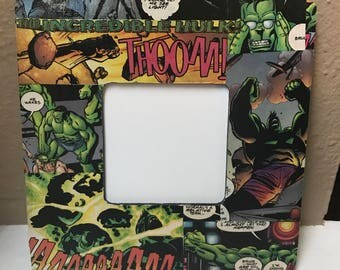 The Incredible Hulk Picture Frame