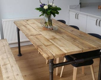Scaffold Board and Gas Pipe Table