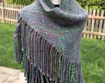 Sparkly 5' triangular shawl