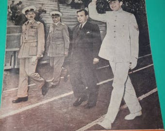 King Constantine II of Greece, Greek Police Magazine, June 1958, Issue 24