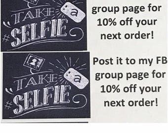 Selfie Labels