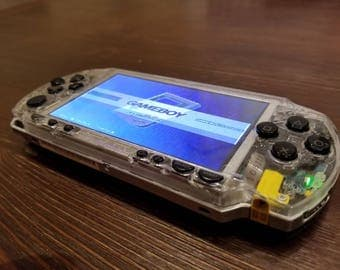 CUSTOM BUILT PSP Zero with Raspberry Pi