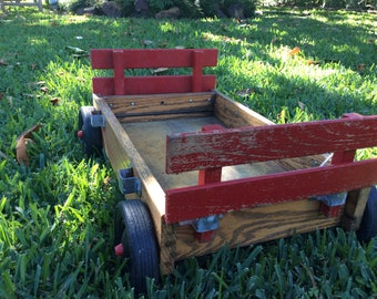 Berlin Wood  Products Inc. Red Wagon