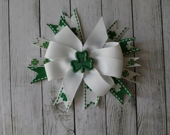 SALE Large Shamrock Bow