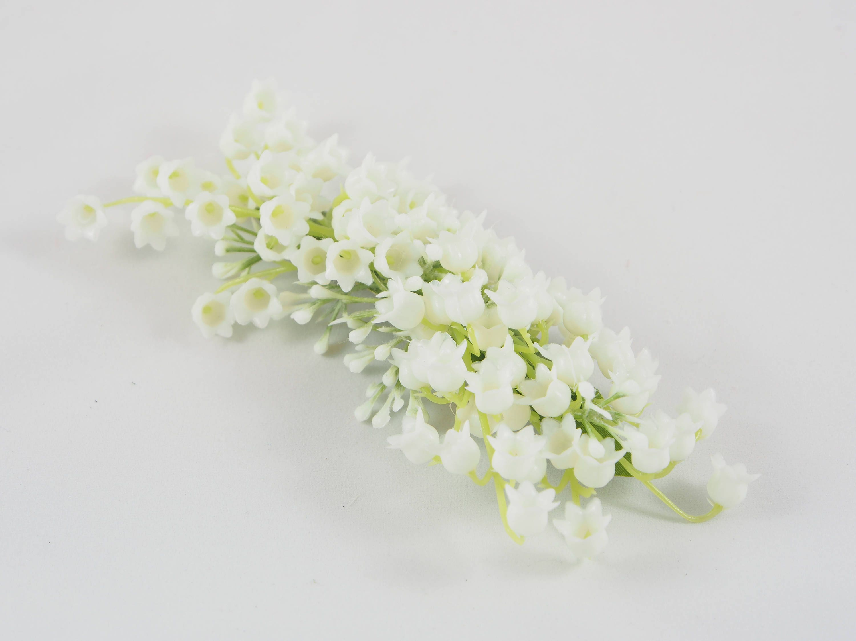 Wedding Hair Clip White Flower Clip Bridal Hair Clip Floral