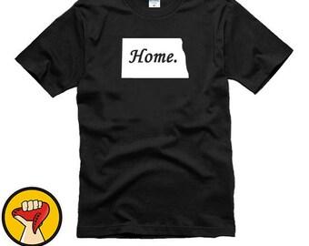 North Dakota Home State Tee Shirt T-Shirt More Colors XS - 2XL