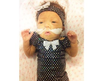 Preemie Girl Clothed