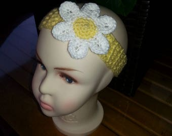 Crocheted Baby Headband 6-9 Months
