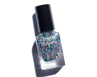 Cirque Colors Nail Lacquer, XX Multi-Holo Glitter