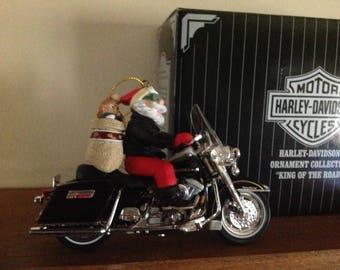 Vintage Harley Davidson Christmas Ornament