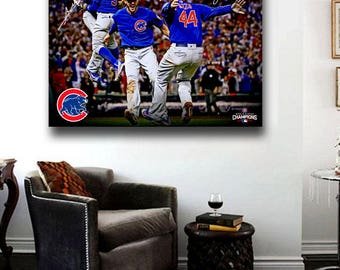 Chicago Cubs World Series Championship Celebration 2016 Rizzo,Bryant.Baez,Russel