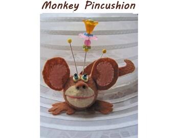 Monkey Finger Pincushion Kit
