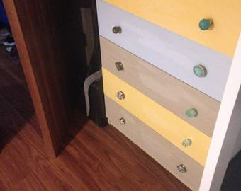 Upcycled Large Chest of Drawers