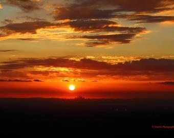 LA Skyline Sunset #1