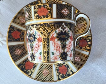 1964-75 Royal Crown Derby Coffee Duo